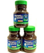 Maxwell House The Original Roast Decaf Instant Coffee 8 oz ( Pack of 3 ) - $19.55