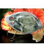 Kim crocker sterling silver 14k gold brooch pin morrisonite jasper thumbtall