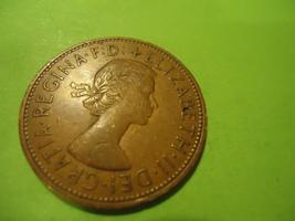 1964 BRITISH-ENGLISH Large Cent We Combine Shipping & Handling - $4.00