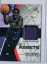 2003 Fleer Net Assets Jerseys #NAJ-CW Chris Webber MEM  - $33.62