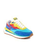 NEW Womens Fila Renno Athletic Shoe Atomic Blue Prince Blue Fiery Red Mu... - $109.99