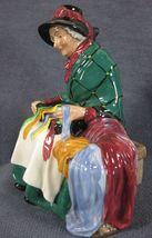 "Royal Doulton Silks and Ribbons HN2017 Figurine 6"" Vintage England 1948 image 7"
