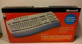 Microsoft Internet Keyboard 2001 Vintage, New in Box - $29.99
