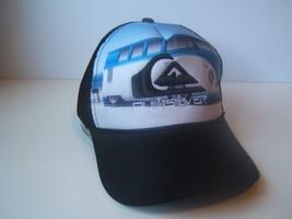 Quiksilver Retro Camper Van Bus Hat Snapback Trucker Cap - $23.13