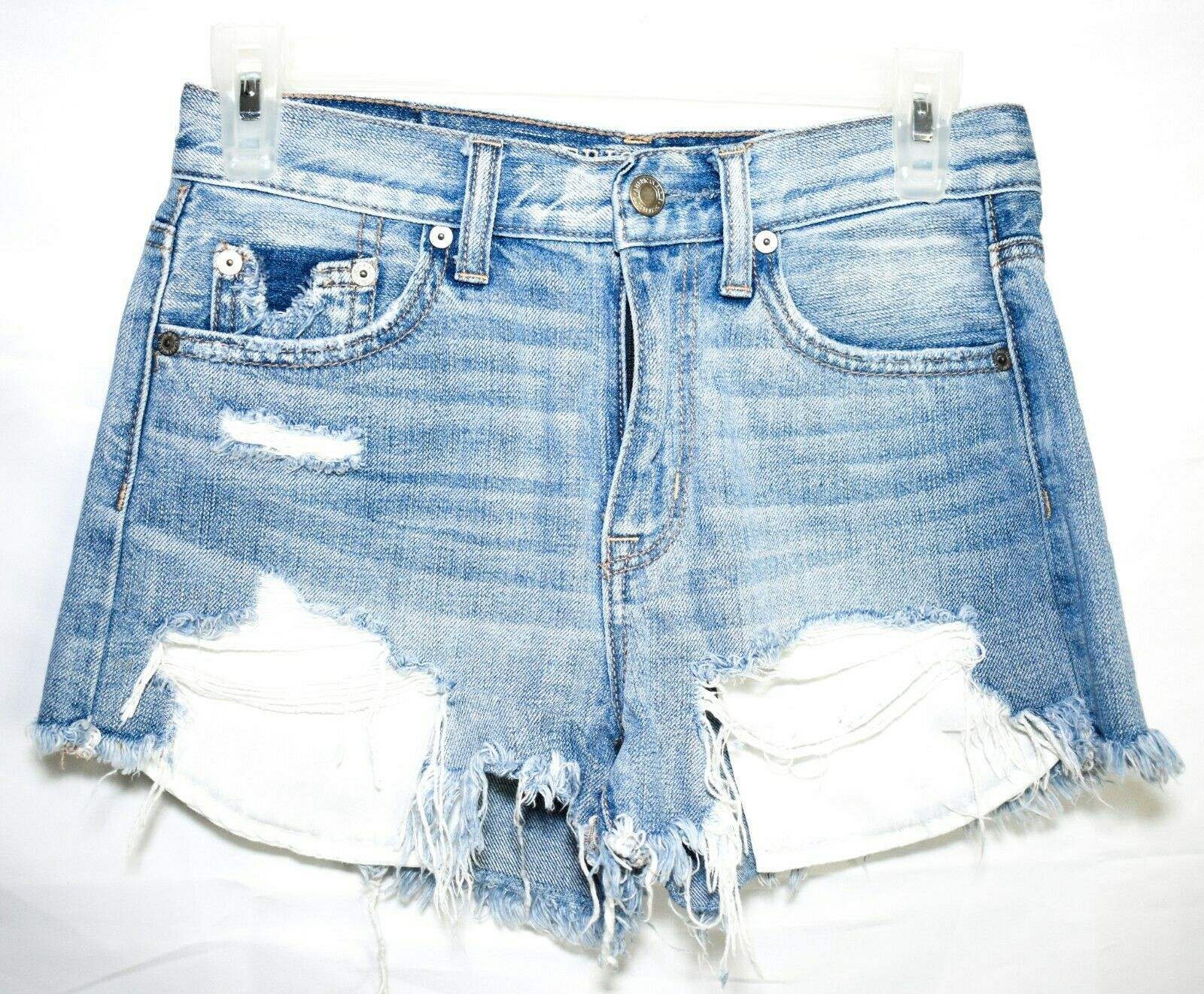 American Eagle Outfitters Vintage Hi-Rise Festival Jean Shorts Size 0