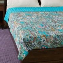Indian Handmade Quilt Vintage Kantha Bedspread Throw Cotton Blanket Gudr... - £47.58 GBP