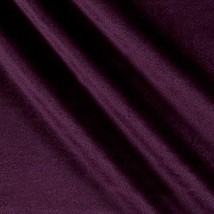 Ben Textiles Royal Velvet Plum Fabric by the Yard