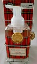 Michel Design Works Tartan Foaming Shea Butter Hand Soap & Hostess Napkin Set  - $26.99