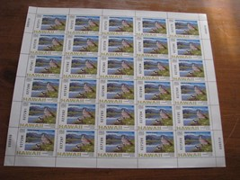 Hawaii Duck Hunting Permit Stamp #1 1996 Full Sheet of 30 - $180 Face Value - $59.31