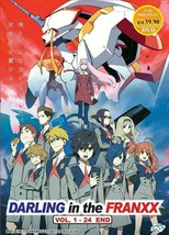 Darling In The FranXX Complete Series (1-24) English Dub Ship From USA