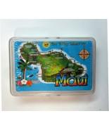 Sealed Deck of MAUI Hawaii Souvenir Map  Playing Cards- Hawaiian Man Jok... - $11.99