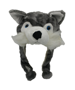 ANIMAL HAT Selections - Plush Faux Fur Critter Cap - Soft Warm Winter He... - $7.19+