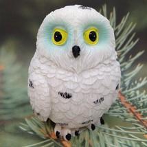 OWL FIGURINE Collectible Bird Resin Gift Home Decor Design #2 - $4.16