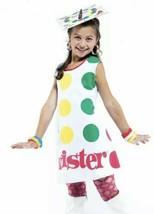 Hasbro Twister Game Halloween Costume Girl's Small Dress Kid's 90's Retro - $21.77