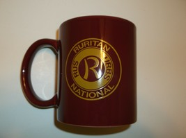 RURITAN National Thank You Coffee Mug Cup~MAROON~11 Ounce~Collectible~Sh... - $9.37