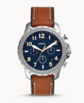 Fossil FS5602 Bowman Chronograph Luggage Leather Watch - $88.95