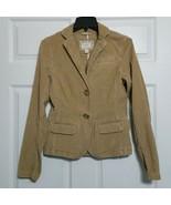 American Eagle Women's Corduroy Blazer Jacket ~ Sz SP ~ Long Sleeves ~ B... - $24.74