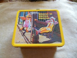 Vintage Ronald McDonald Metal Lunch Box & Thermos 1982 NWOT - $77.52