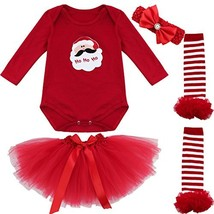 iiniim Baby Girls First Christmas Outfit Costumes (6 - 9 Months|Santa Cl... - $29.42