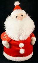 Hallmark Pere Noel (Father Christmas) Santa Claus Plush Figurine with Tags - $15.99