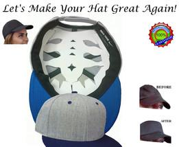 Baseball Cap Web Shaper Flex fit cap Liner Fitted Hat Shaper Cap Crown I... - $10.38+