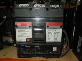 GE TJ4V2603 300A 3p 600VAC Circuit Breaker w/ LI MicroVersaTrip 24VDC Shunt &Aux - $850.00
