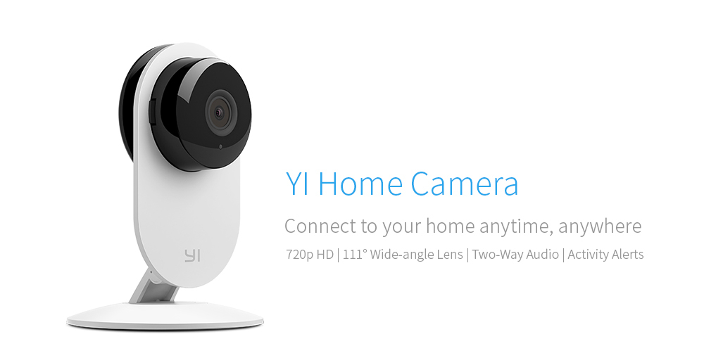 YI Home Camera 720P Night Vision Video Monitor IP/Wireless Network Surveillance for sale  USA
