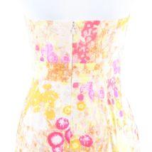 Multicolor floral print 100% cotton J. CREW sun dress 6 image 8
