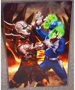 Blue Ranger vs Quan Chi Glossy Art Print 11 x 17 In Hard Plastic Sleeve - $24.99