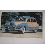 """Harold's Club's ""Silver Dollar"" 1949 Buick Woody Wagon"" Postcard, USA - $7.34"