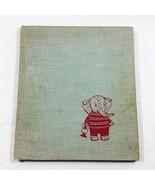 Brave Baby Elephant 1960 Childrens Vintage Book Sesyle Joslin Hardcover ... - $49.99