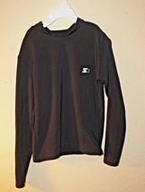 Starter Boys Black Long Sleeve Dri-Star Athletic Compression Shirt Sz M 8-10 tb - $7.00