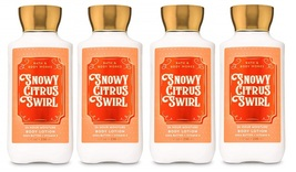 Bath & Body Works Snowy Citrus Swirl Body Lotion 8 oz - x4 - $34.85