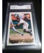 1993 Topps Gold Kirt Manwaring GMA Graded 8.5 NM-MT+ Baseball Card 337 - $9.99