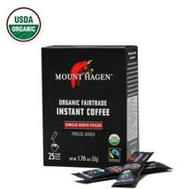 Mount Hagen Organic Fairtrade Instant Coffee Freeze Dried 2g x 25 Count    - $22.77
