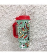 Universal Studios Souvenir Cup With Lid & Straw Rollercoaster - $12.19