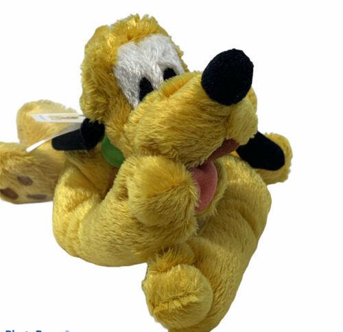 "Plush Pluto Disney World Bean Bag Laying Down 9"" Soft Stuffed Animal Toy - $6.00"