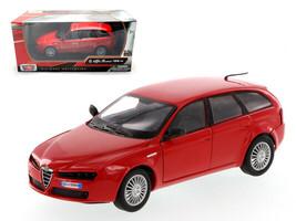 Alfa Romeo 159 SW Red 1/24 Diecast Car Model by Motormax - $31.71