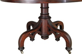 17417 Empire Mahogany 42 inch Center Table - $685.00