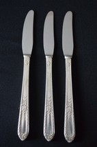 Holmes & Edwards Pattern Masterpiece 1932 Set of 3 Grille Knives - $7.92