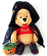 "Winnie The Pooh Halloween Witch Disney Store 8""Tall Stuffed Plush doll M... - $8.54"