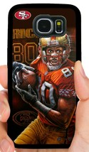 Jerry Rice 49ERS Phone Case For Samsung Note & Galaxy S6 S7 Edge S8 S9 S10 Plus - $11.99