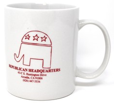 Repubblicano Headquaters Arcadia Ca Elefante Tè Caffè Tazza - $13.32