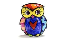 Romero Britto Mini Owl Figurine #334120