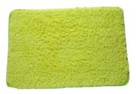 """Yoga Velvet Carpet for Living Room Bedroom Yoga Mat 24"""" x 16"""" Green - $10.49"""