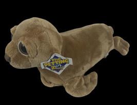 """The Petting Zoo Sea Lion Plush Doll Stuffed Animal Toy 15"""" Brown Seal Wi... - $24.75"""