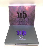 Urban Decay Xx Vice Ltd Reloaded Eyeshadow Palette + Dual Brush New Authentic - $47.67