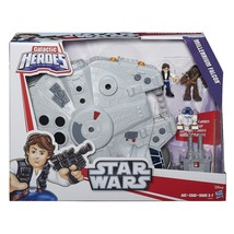 Star Wars Galactic Heroes The Millennium Falcon and Figures - NEW - $34.99