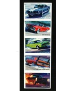 2013 46c Muscle Cars, Strip of 5, Imperforate Scott 4743-47b Mint F/VF NH - $15.75