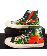 Converse Chuck Taylor All Star Hi Floral Flowers Hawaii Heliconia 140793... - $59.95